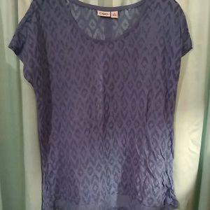 Nwot Cato XL shirt